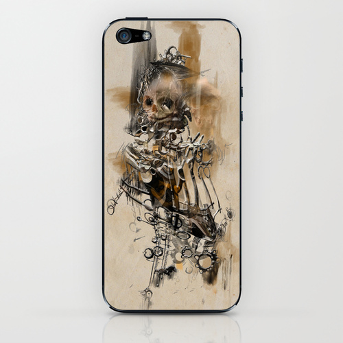 A Page from The Book Of The Damned - Phone Case