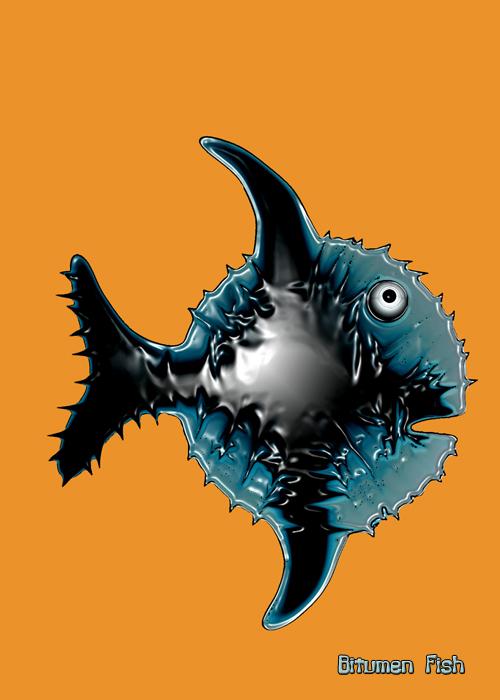 Bitumen Fish