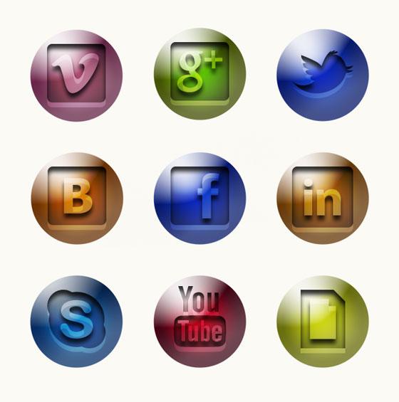Glossy Icon Design
