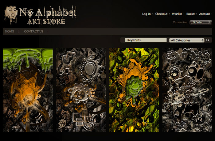 Art Store Website
