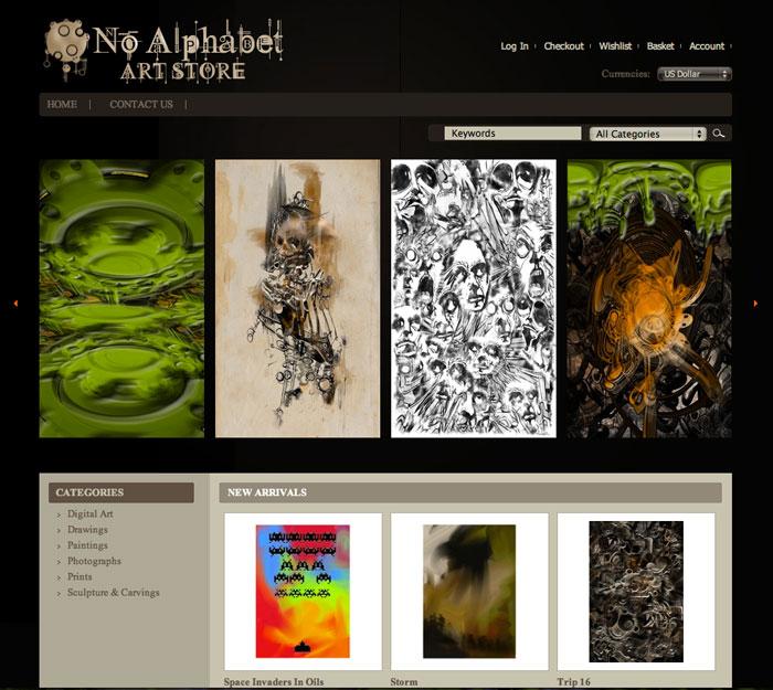 Online Art Store Build