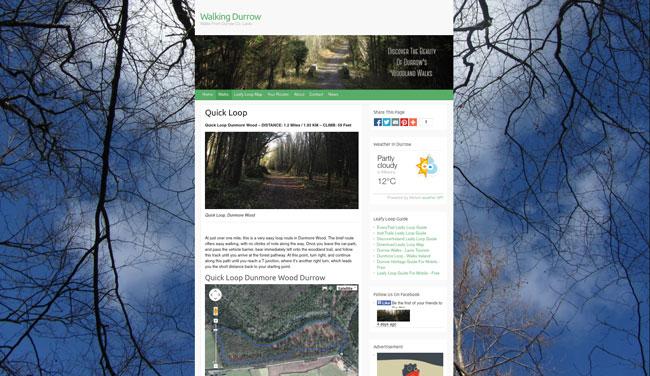 Walking Durrow Website